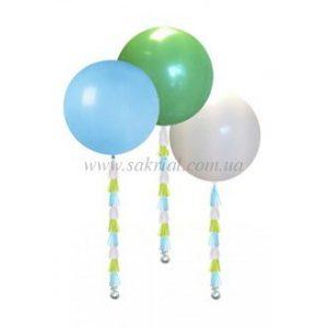 Большие латексные шарики с гелием