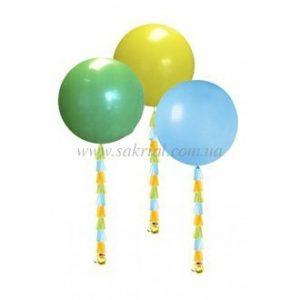 Большие разноцветные шары