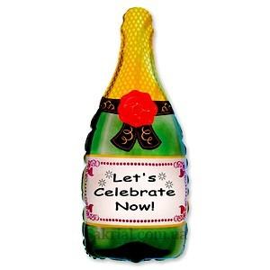 Купить воздушный шар Бутылка Шампанского