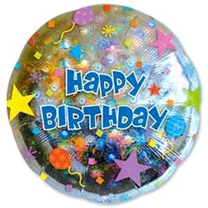 Заказать шарик Happy Birthday Шары и звезды