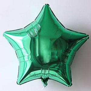 Шарик Звезда зеленая