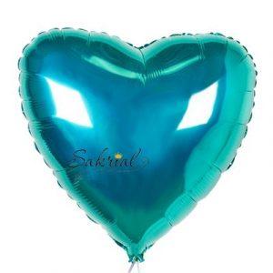 Шарик Бирюзовое сердце купить в киеве