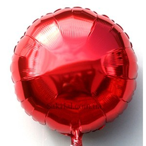 Купить Шарик Круг Красный