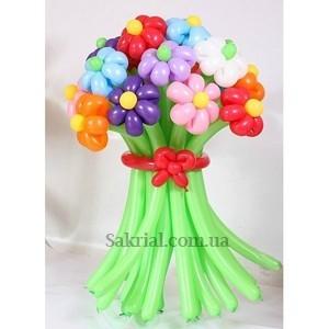 Купить Букет Разноцветных Ромашек из Шаров