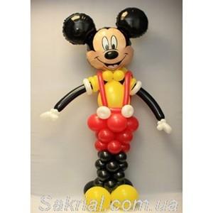 Купить Большого Микки Мауса из шаров
