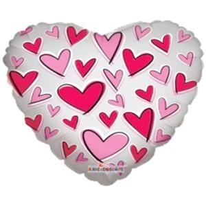 Купить Сердце Шар I Love You на Подарок
