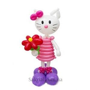 Купить Хелло Китти из воздушных шаров