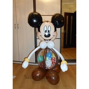 Купить Микки Маус из надувных шариков