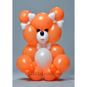 Купить медведя из воздушных шаров