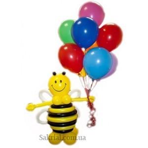 Купить Пчелку из воздушных шаров