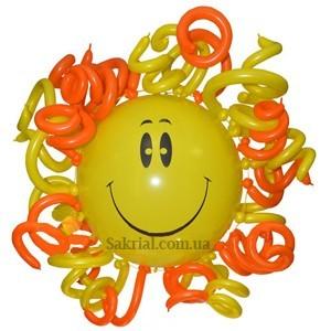 Купить солнце из шаров
