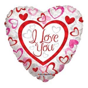 Купить Сердце Шар I Love You Любимой