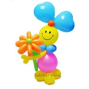 Купить фигурку из шаров в Киеве