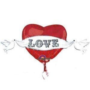Купить Сердце Шар Love на Свадьбу