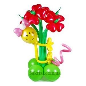 Купить Букет Цветов из Шаров на Праздник