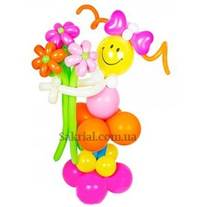 Купить фигурку девочка из шаров
