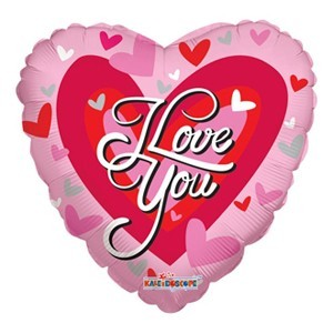 Купить Сердце Шар I Love You Сердечки