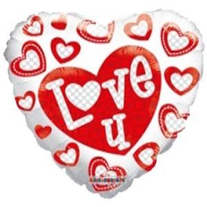 Заказать Сердце Шар I Love You Жене