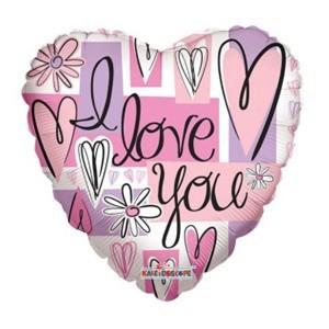 Купить Сердце Шар I Love You Подарок