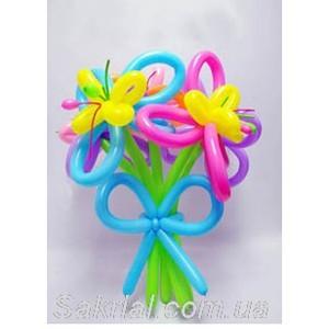 цветы из шариков на День рождения в Киеве