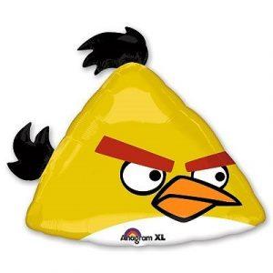 Заказать фольгированный шар Angry Birds Желтая
