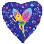 Купить Фольгированный Шар-Сердце Фея