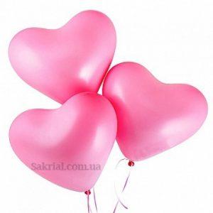 Купить Шар Розовое Сердце