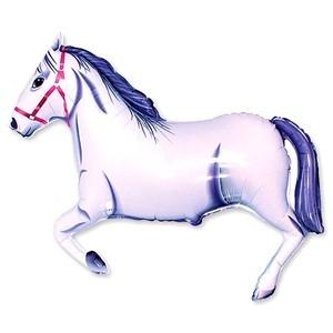Купить Шарик Лошадь Белая в Киеве