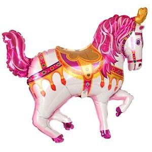Купить Шарик Розовая Лошадка в Киеве