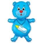Голубой Мишка Шарик на Выписку