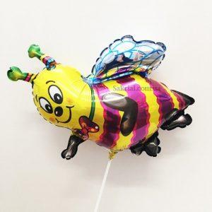 Купить Фольгированный Шарик на Палочке (Пчела)
