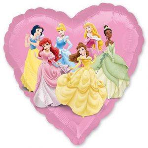Купить Шарик с Принцессами Дисней