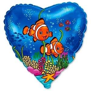 Купить Шарик Рыбки Клоуны в Киеве