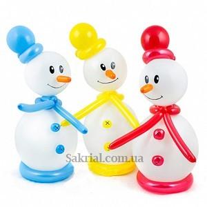 Купить Снеговика из Шариков в Киеве