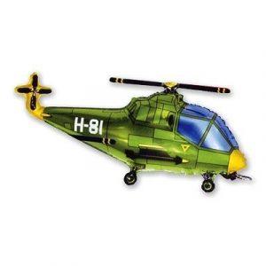 Купить Вертолет воздушный шар зеленый