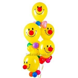 Купить Шары Веселый Клоун