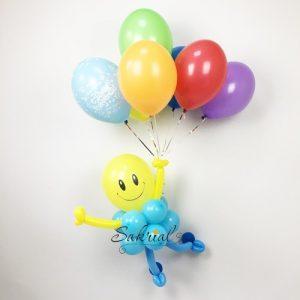 Мальчик на воздушных шарах
