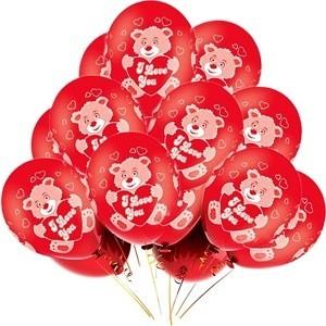 Гелиевый шарик I Love You Мишка