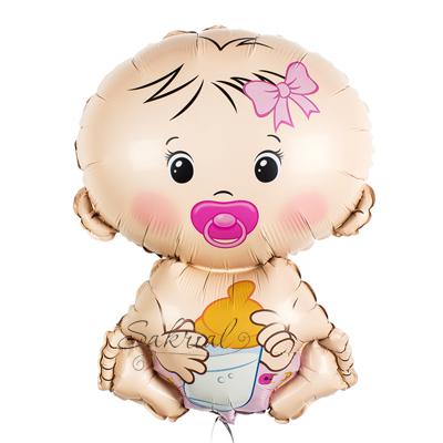 Шарик Малышка на Выписку Дочки