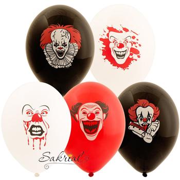 Шарики Страшные клоуны