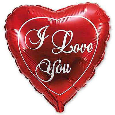 Купить Заказать Сердце Шарик I Love You Любимой