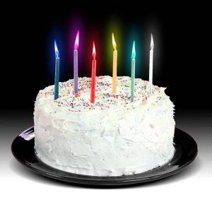 Купить Свечи для Торта с Разноцветными Огоньками