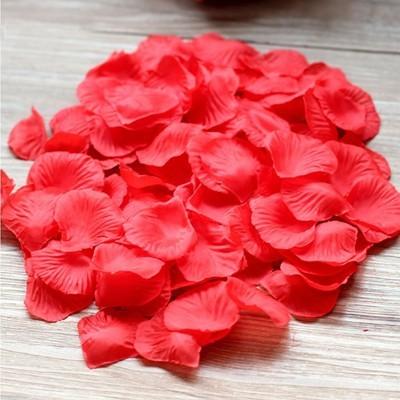 Купить Искусственные лепестики роз красные в Киеве