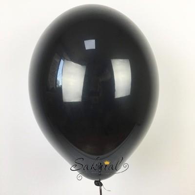 черный шар с гелием