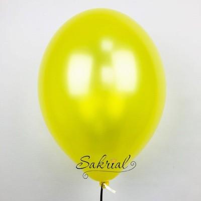 Купить Желтые Шары Металлик