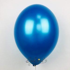 Латексный шар металлик Синий