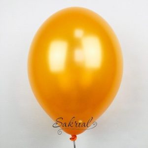 Купить Оранжевые Шары Металлик