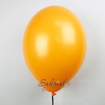 Большой оранжевый гелиевый шар
