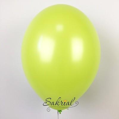 Купить гелиевые шары зеленое яблоко