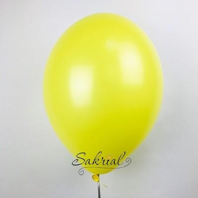 Большой желтый гелиевый шар